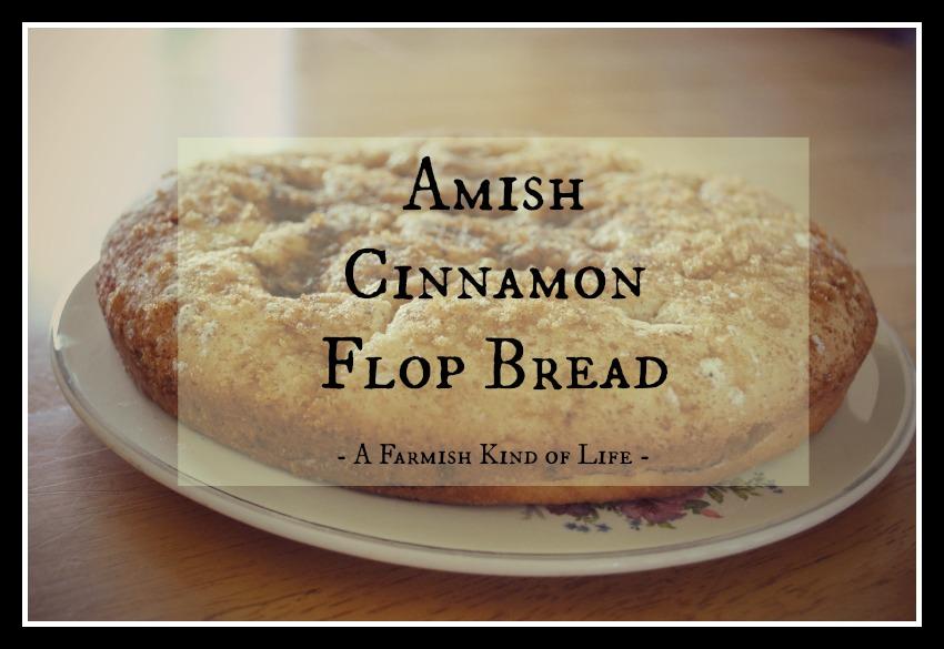 Cinnamon Flop Bread
