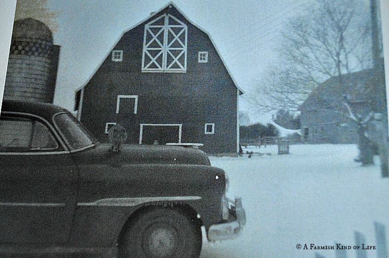 Moving a barn in 1949 - A Farmish Kind of Life