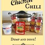 White Chicken Chili – Dump and Done!