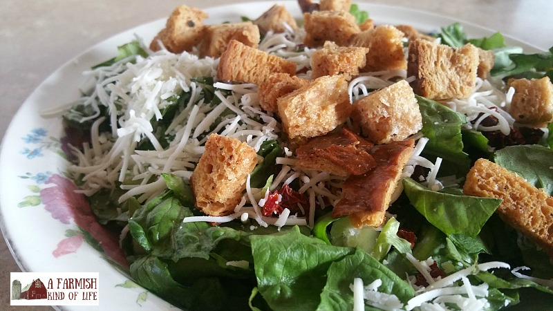 Learn to make your own homemade croutons, and you'll never buy them from the store again!