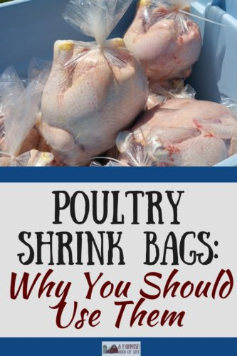 Tired of using freezer paper to wrap your home-processed poultry? I'll show you how to use poultry shrink bags for your next processing day.