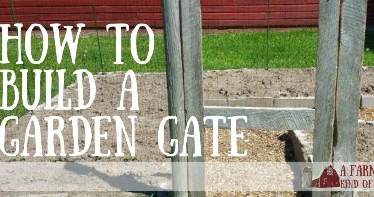 How To Build a Garden Gate Using a Kreg jig