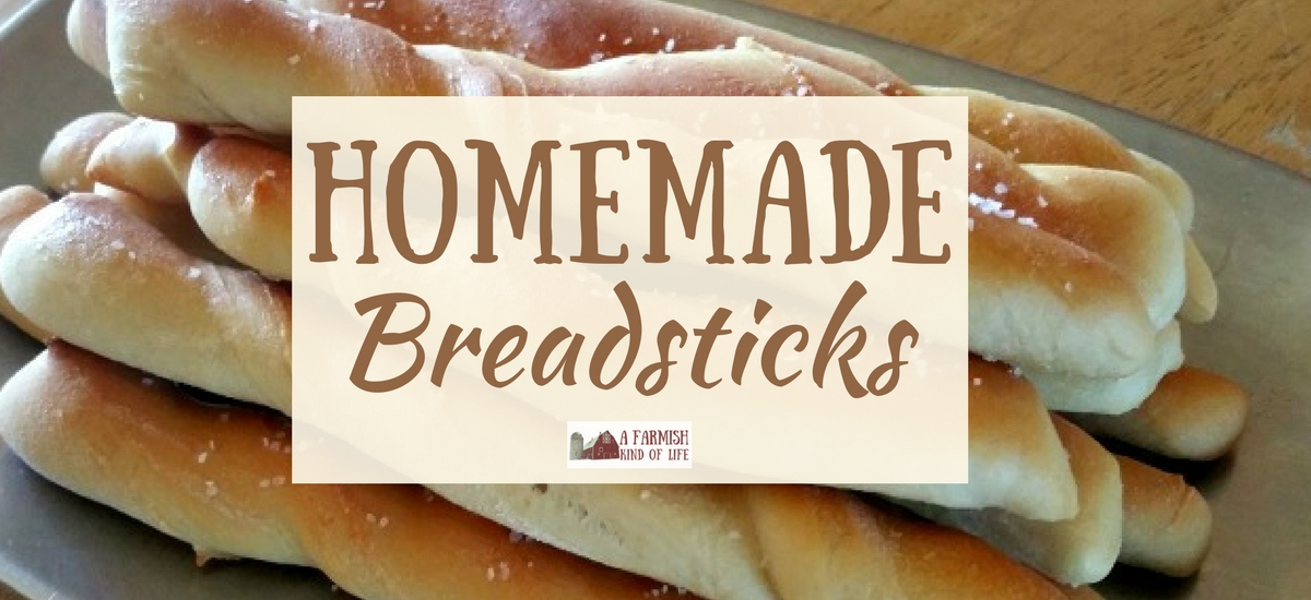 Homemade Breadsticks From Scratch