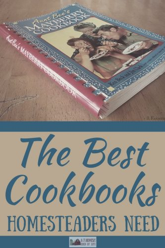 If you spend a lot of time in the kitchen, you're bound to have some favorite cookbooks. Here are my picks for the best cookbooks homesteaders need.