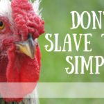 Don't Be A Slave To The Simple Life