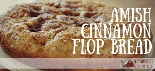 Simple and delicious. a cinnamony buttery treat! - Amish Cinnamon Flop Bread - A Farmish Kind of Life