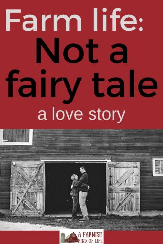 A farm girl and an officer is not a fairy tale. It's a love story. And I'll choose it over a Disney storybook every single time.