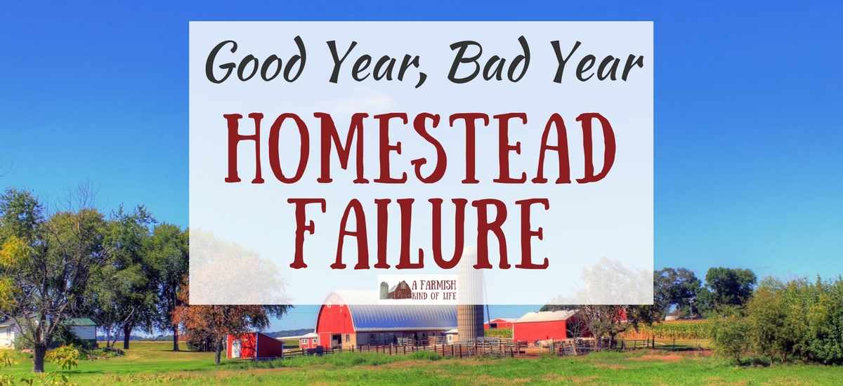 Good Year, Bad Year: Homestead Failure