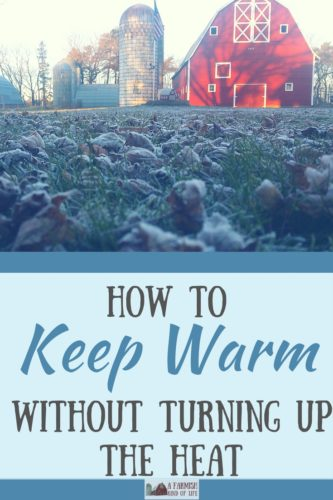 A Minnesota farm(ish) girl knows how to keep warm when the temps turn cold. Here are my suggestions for how to stay toasty without turning up the heat.