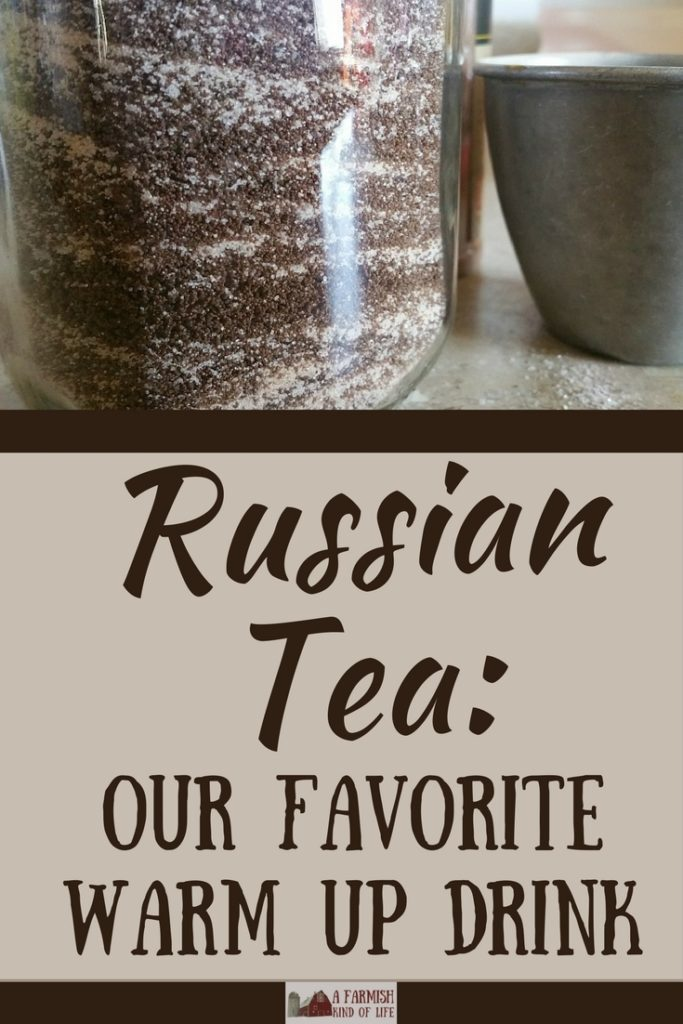Looking for a hot drink to warm you up when the temperatures start to drop? Try a mug of Russian Tea. It's super easy to make, and super delicious!