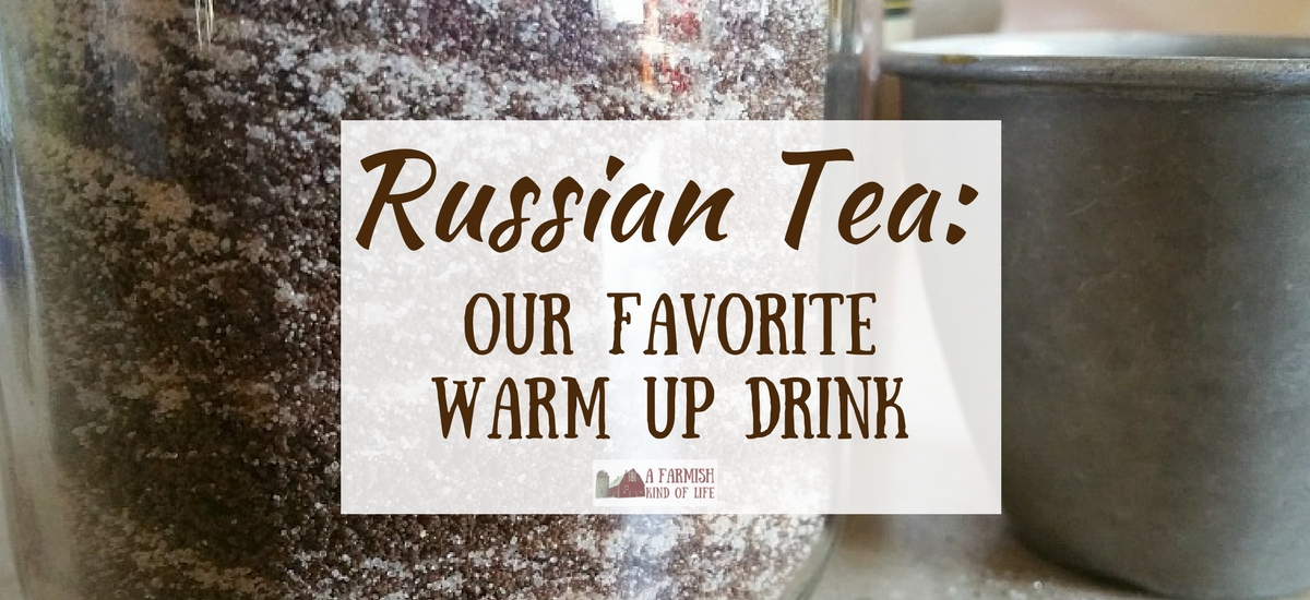 Russian Tea: Our Favorite Warm Up Drink