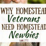 Homestead Veterans Need Homestead Newbies