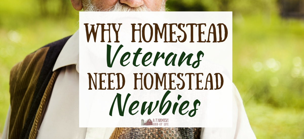 Homestead Veterans Need Homestead Newbies
