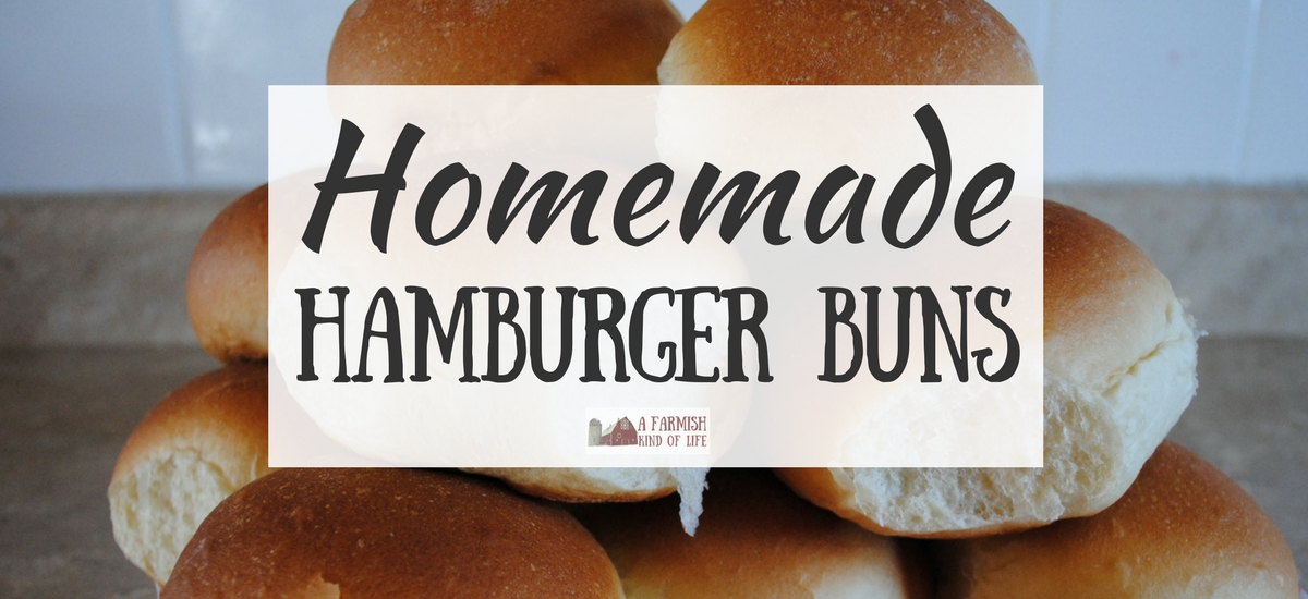 Homemade Hamburger Buns: Make Your Own