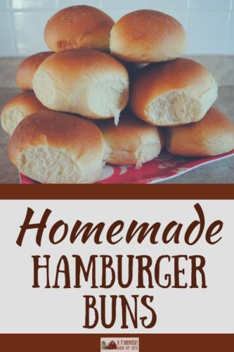 My homemade hamburger buns are delicious and WAY more filling than what you can get in the store. They're sure to become your family's favorite!