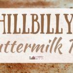 Hillbilly Buttermilk Pie