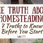The Truth About Homesteading: 7 Things to Know Before You Start