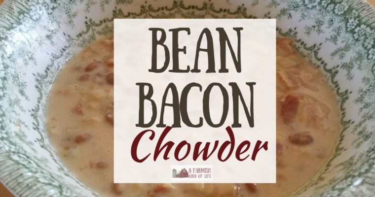 Bean Bacon Chowder: Because, Bacon