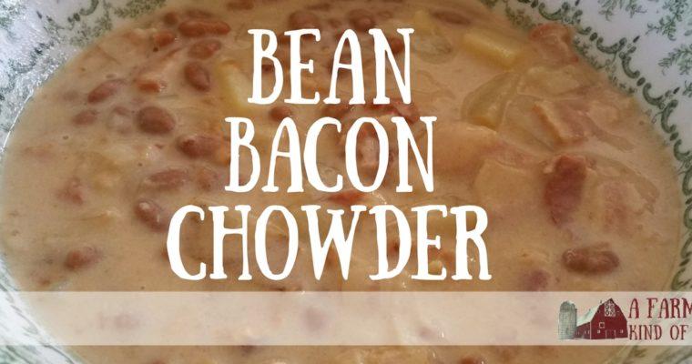 Bean Bacon Chowder