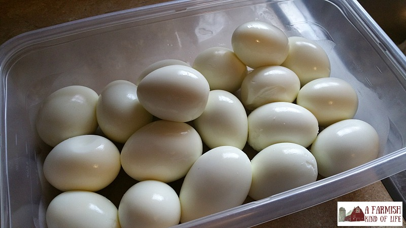 The easiest way to make hardboiled eggs that will actually peel? Yeah. I figured it out.