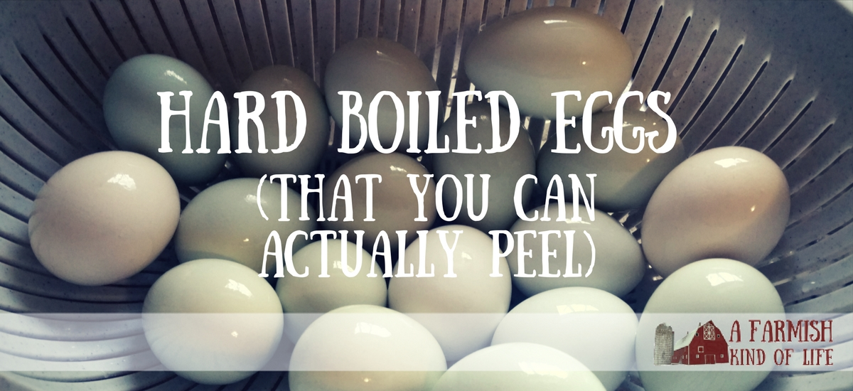 The Easiest Way to Make Hard-boiled Eggs You Can Actually Peel