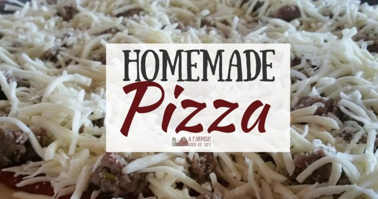 Homemade Pizza: Make Your Own From Scratch
