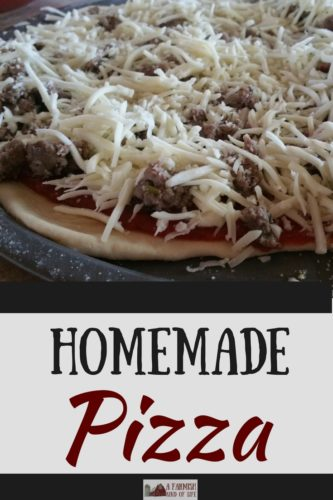 The fact that pizza exists is the entire reason I'm not a size two. Here's how to make your own homemade pizza. Mmmmm.