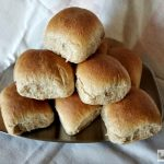 When your family asks you to bring something to share at dinner, tell them you'll bring Honey Wheat Pan Rolls. They'll love them, and you will, too!