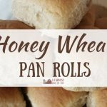 Honey Wheat Pan Rolls