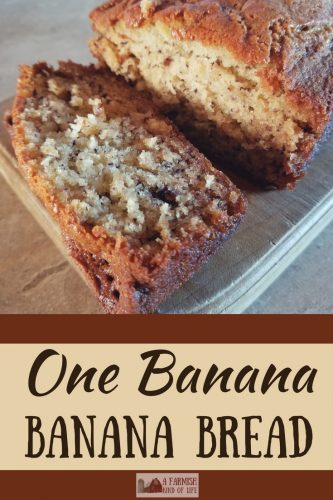 how to make banana bread with 1 banana