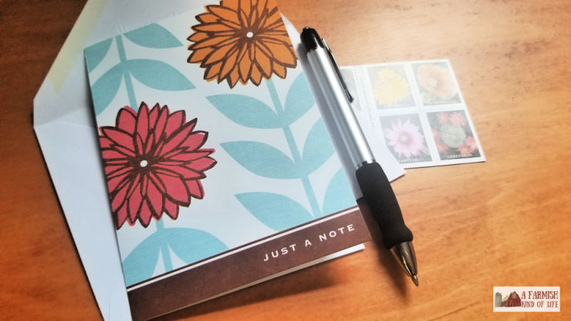 Handwritten letters bring joy to both the sender and the receiver.