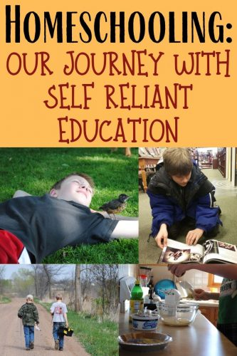 Homeschooling is sometimes considered the self reliant way to go about education. We've been homeschooling since 2007 and are often asked about our journey.