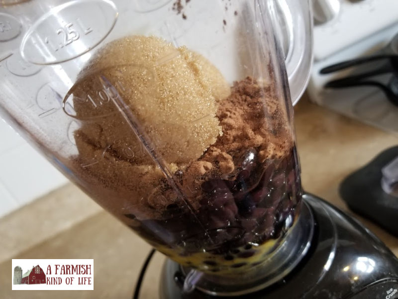 Craving brownies? Black Bean Brownies in a blender are the easiest to make, giving you a fudgey, filling brownie made with black beans instead of flour.