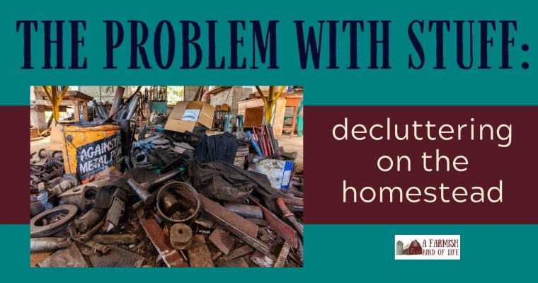 064: Homestead Decluttering — the why and how