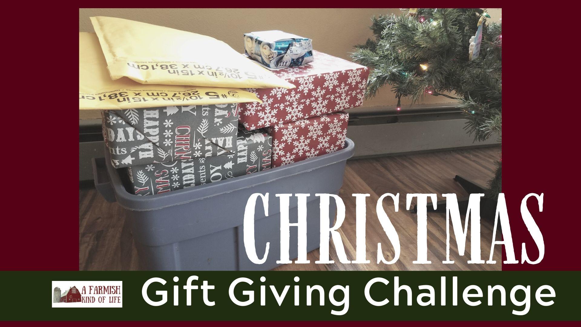066: Christmas Gift Giving Challenge