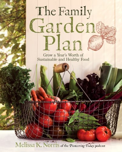 Is it really possible to grow a year's worth of food on your property? Melissa K. Norris shares with me today about how to make it happen.