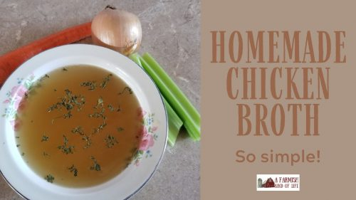 Learn to make homemade chicken broth so you can make use of the entire chicken. It's so simple, you will wonder why you ever bought broth at the store!