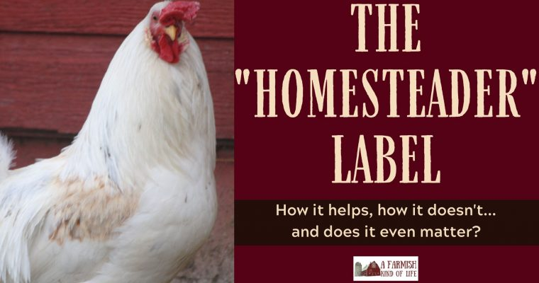 069: The homesteader label – how it helps, how it doesn't