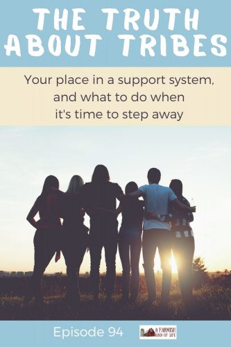 Today I am deep thinkin' about tribes, support systems, and groups of friends. Life is a process of growth and change, so let's talk about how to find your tribe, what the purpose is of that tribe, and what to keep in mind when you feel like it's time to step away from that tribe.