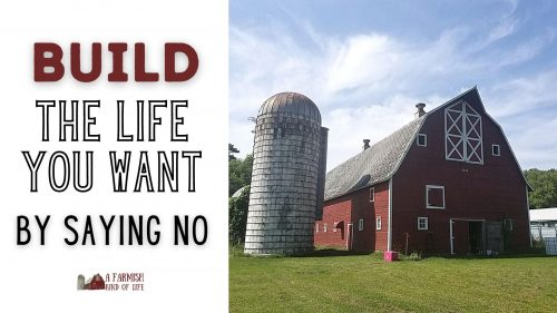 Let's work through the how-to of determining what you want from life, as well as the importance of saying no in order to make that life a reality.