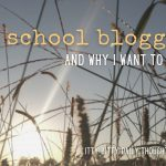 old school blogging (itty bitty thoughts)