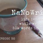 110: NaNoWriMo