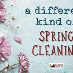 124: a different kind of spring cleaning