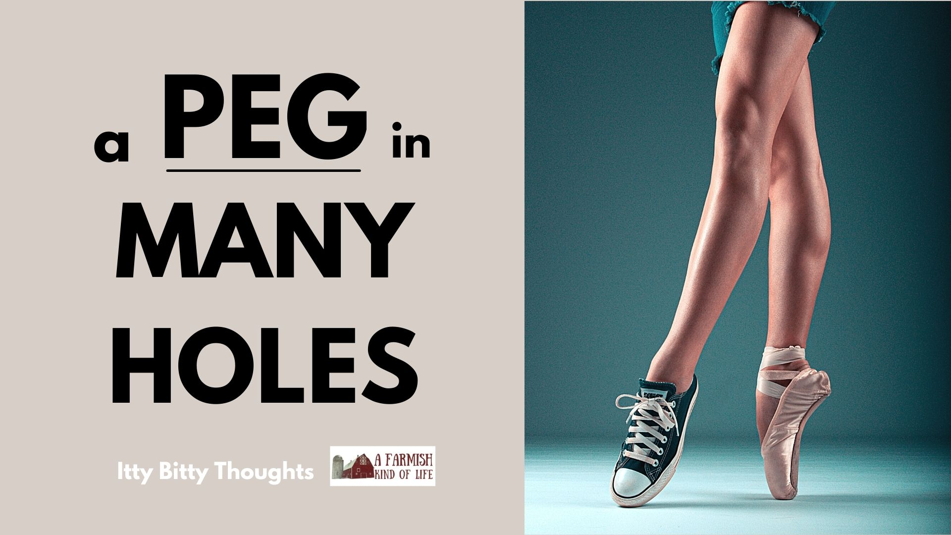 125: a peg in many holes (itty bitty thought)