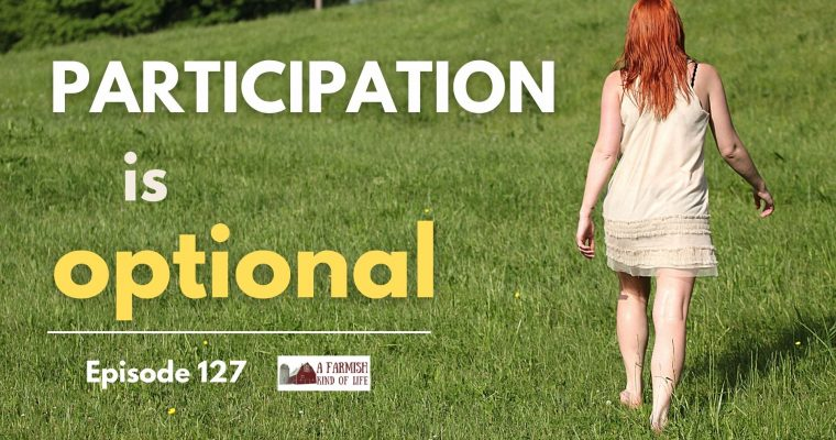 127: Participation is optional