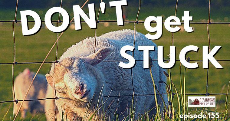 155: Don't Get Stuck